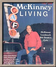 The cover of McKinney Living!
